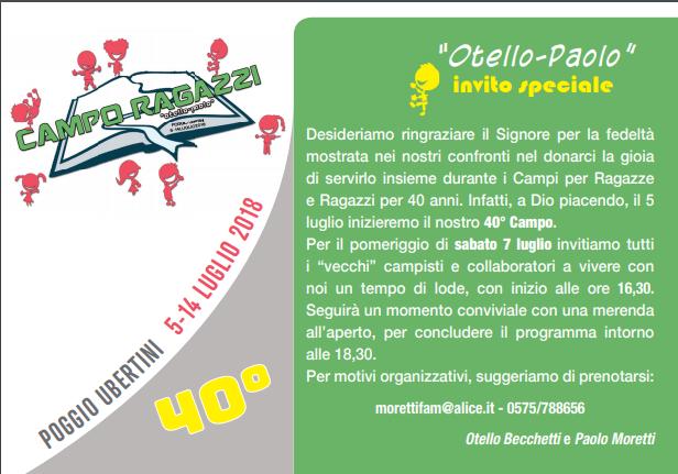 """Campo Ragazzi """"Otello-Paolo"""""""